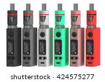 box mods electronic cigarettes  ... | Shutterstock . vector #424575277