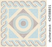 Coloured Mosaic Antique Style...