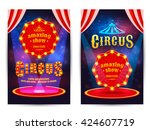 Circus Amazing Show Poster...