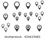 set map pointers icons ...