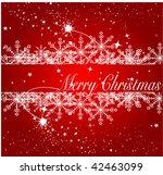 merry christmas | Shutterstock .eps vector #42463099