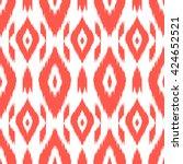 modern ethnic seamless pattern... | Shutterstock .eps vector #424652521