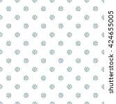polka dot seamless pattern.... | Shutterstock .eps vector #424655005