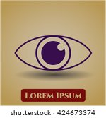 eye icon | Shutterstock .eps vector #424673374