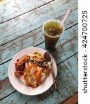 Typical Popular Fast Food Thai...
