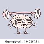 vector illustration of retro... | Shutterstock .eps vector #424765354