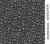 hand drawn rain seamless... | Shutterstock .eps vector #424767979