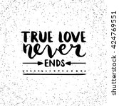 Quote. True Love Never Ends....
