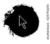 vector arrow cursor | Shutterstock .eps vector #424792654