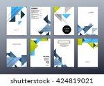 geometric vector background....   Shutterstock .eps vector #424819021
