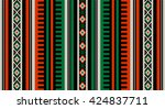 a orange and green theme... | Shutterstock .eps vector #424837711