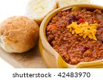 Bowl Of Chili Con Carne With...