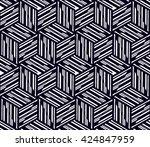 vector seamless pattern. modern ... | Shutterstock .eps vector #424847959