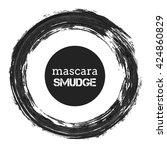 realistic vector mascara brush... | Shutterstock .eps vector #424860829