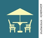 chair icon | Shutterstock . vector #424894459