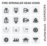 Fire Sprinkler Icon Or...
