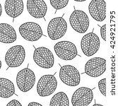 vector graphic seamless pattern ... | Shutterstock .eps vector #424921795