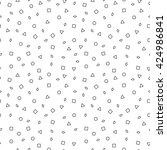 mosaic seamless pattern with... | Shutterstock . vector #424986841