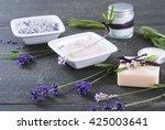 moisturizer cream  soap and...   Shutterstock . vector #425003641
