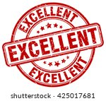 excellent. stamp | Shutterstock .eps vector #425017681