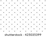 polka dot seamless pattern on... | Shutterstock .eps vector #425035399