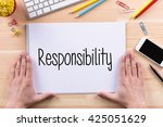 Small photo of Responsibility Concept