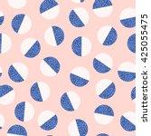 geometric trendy 80s retro...   Shutterstock .eps vector #425055475
