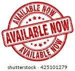 available now. stamp | Shutterstock .eps vector #425101279