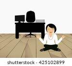 minute yoga among hard day's...