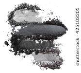 dark grey eyeshadow | Shutterstock . vector #425103205