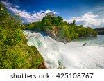 View To Rhine Falls  Rheinfalls ...