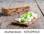 Healthy Crisp Rye Bread With...