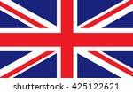 united kingdom flag | Shutterstock .eps vector #425122621