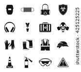 safety set | Shutterstock .eps vector #425125225