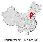 map   china  hebei