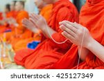 Buddhist Monks Chanting Or...