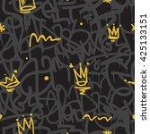 original youth seamless... | Shutterstock .eps vector #425133151