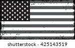 grunge american flag.vector... | Shutterstock .eps vector #425143519