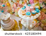 cake decorating | Shutterstock . vector #425180494