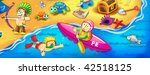 collection cartoon personage.... | Shutterstock . vector #42518125
