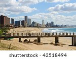 Cityscape And Beach Of Durban ...