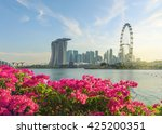 view of central singapore ...   Shutterstock . vector #425200351
