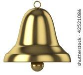 gold bell | Shutterstock . vector #42521086