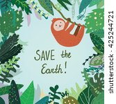 Save The Earth Card With...