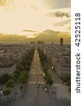 Aerial View Of Paris. From The...