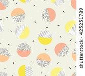 trendy geometric elements... | Shutterstock .eps vector #425251789