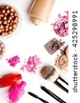 make up products color sample... | Shutterstock . vector #425298991