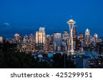 Downtown Seattle Skyline At...