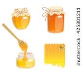 vector illustration of jars...   Shutterstock .eps vector #425301211