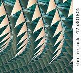 3d illustration abstract...   Shutterstock . vector #425301805